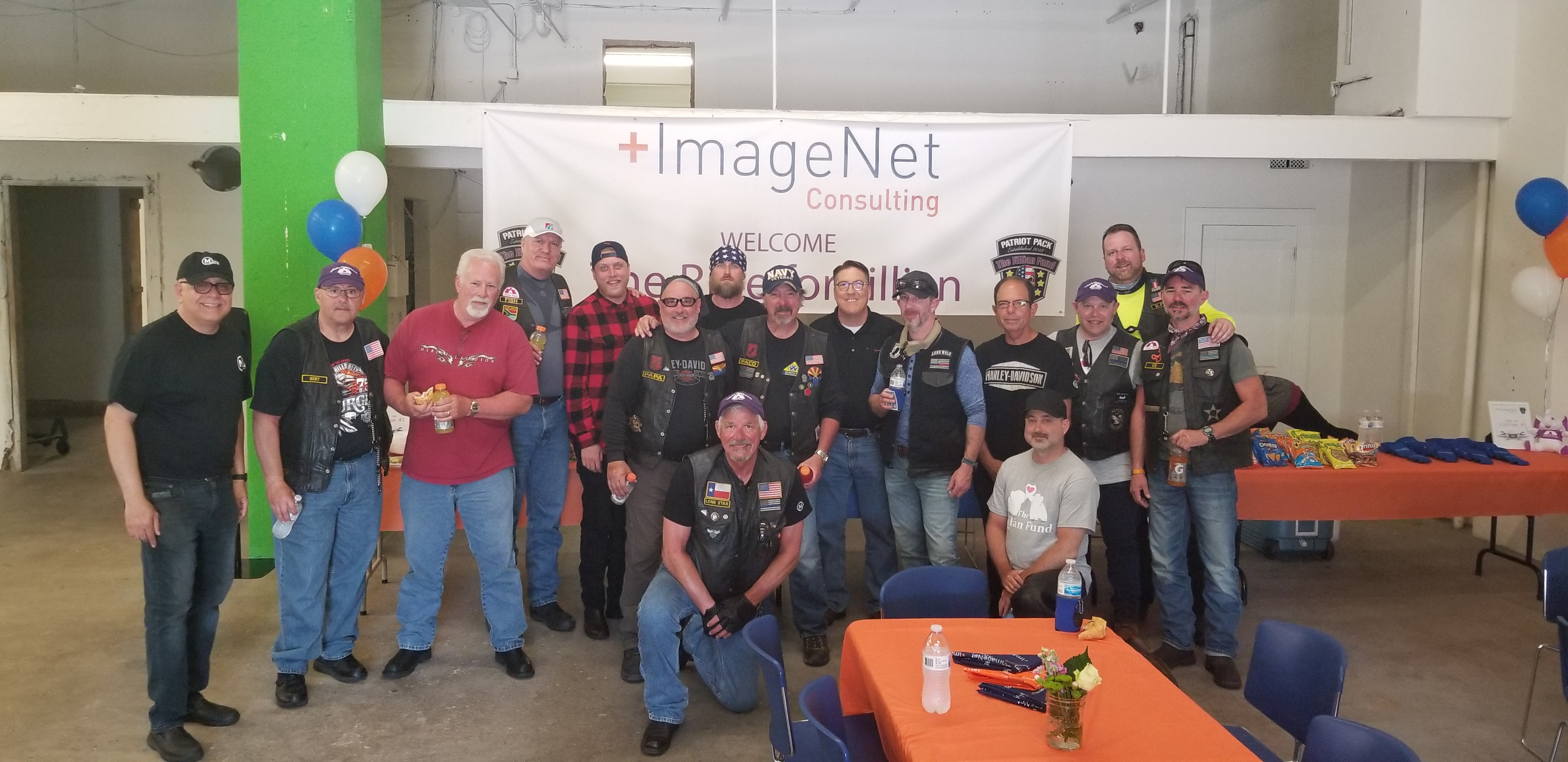Patriot Pack at ImageNet