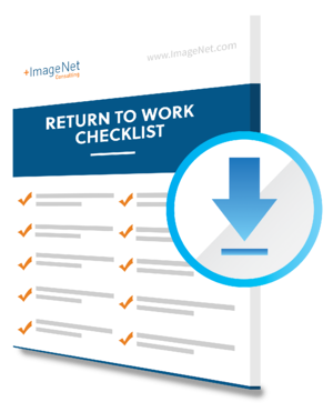 Return to Work Checklist - Guide Image